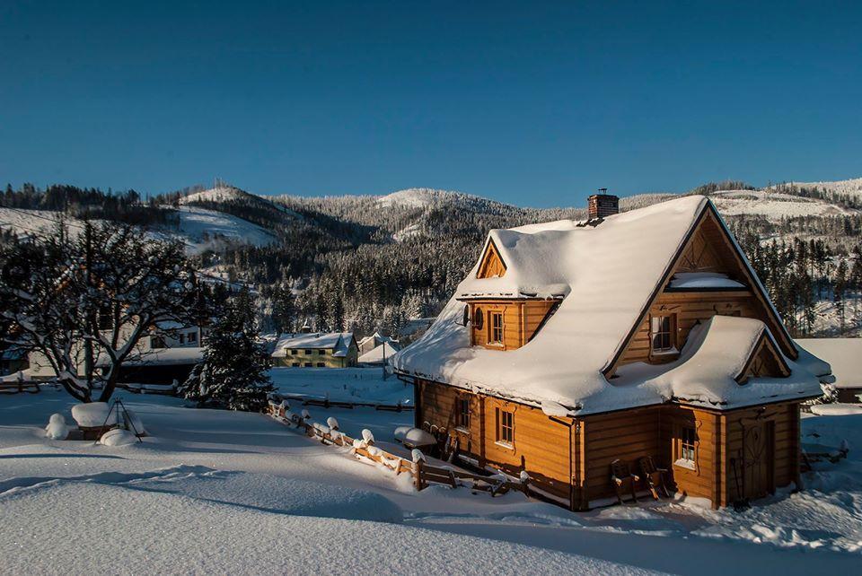 Domki w górach, Soblówka - Chatka Pod Laskiem