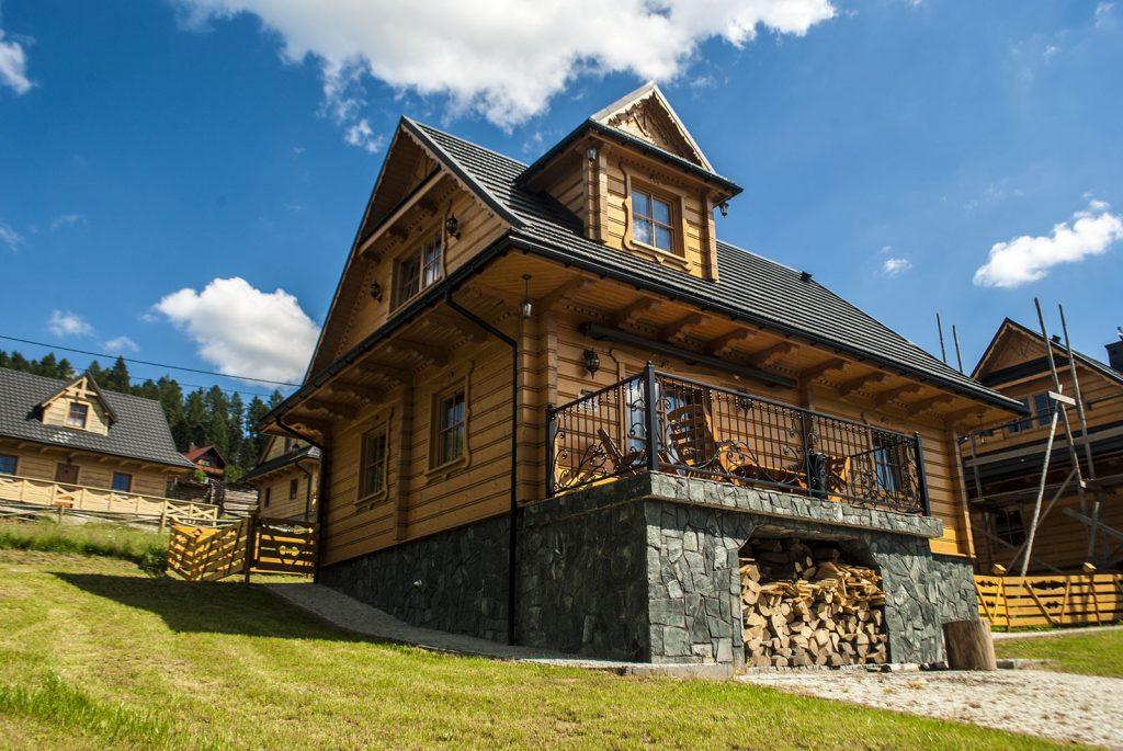 Domek w Beskidach Chatka Pod Laskiem w Soblówce, Ujsoły