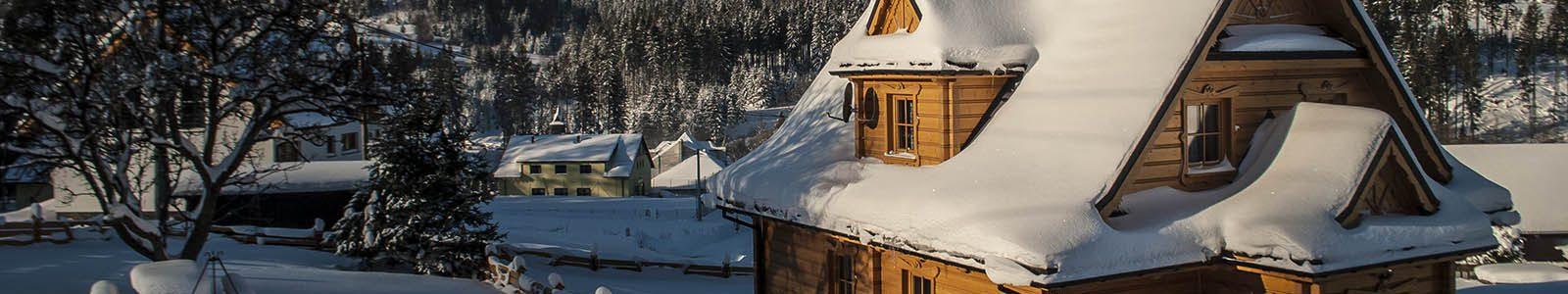 Domek w górach Beskidach