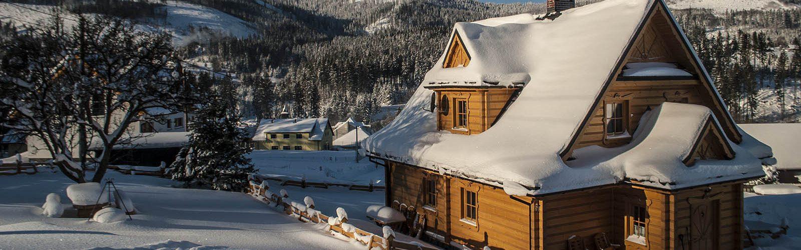 Domek w górach Beskidach- Chatka Pod Laskiem Soblówka